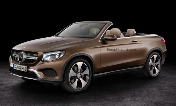 Mercedes-Benz GLC в кабриолет