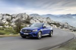 Mercedes-Benz GLC Coupe. Brilliantblau. Mercedes-Benz GLC Coupe. Brilliant blue