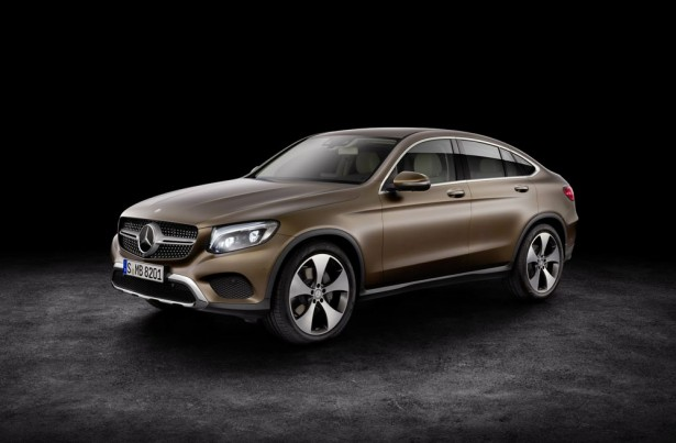 Mercedes GLC Coupe 2016 Фото - 03