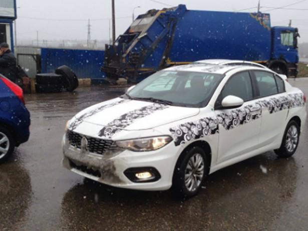 На московских дорогах застукали новый Fiat Tipo1