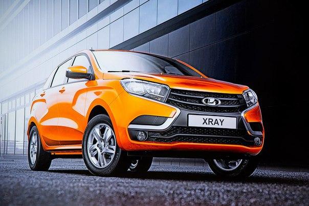 Продажи Lada XRay стартовали в Белоруссии