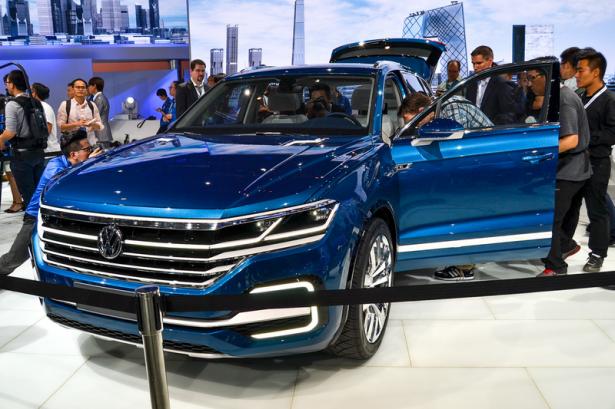 В Пекине представлен большой концептуальный SUV от Volkswagen