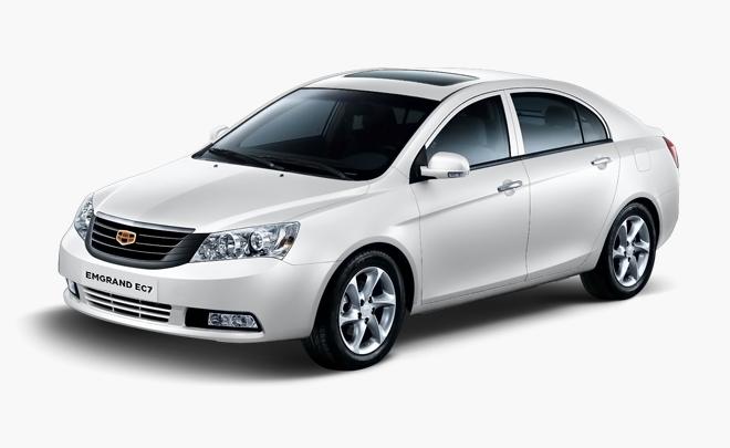Известный  китайский седан Geely Emgrand EC7 обновили дляРФ