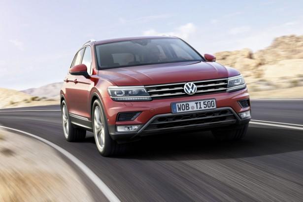 Volkswagen делится первой информацией о новом поколении кроссовера Tiguan