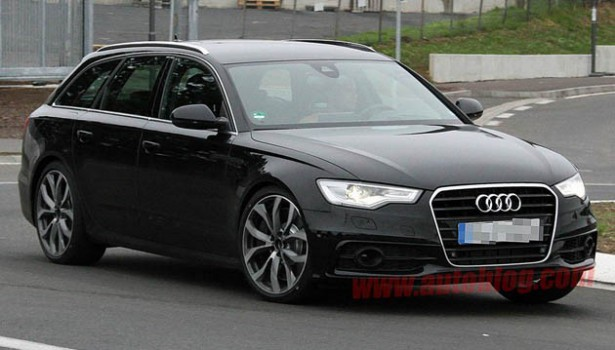 Audi A6 засветилась в Сети