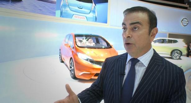 Босс Nissan Карлос Гон