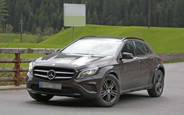 Mercedes-Benz испытывает новый компактный кроссовер