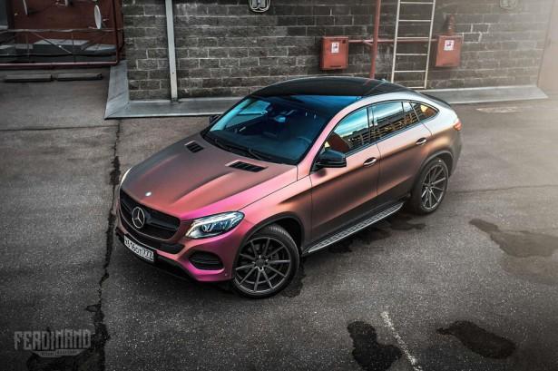 Mercedes GLE тюнинг 2016 Фото 11