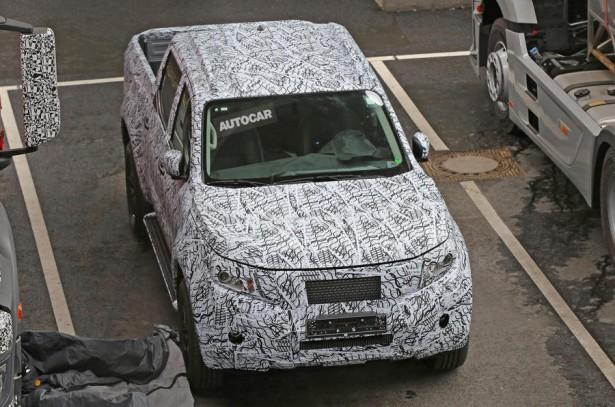 Новый пикап от Mercedes-Benz замечен во время тестирования