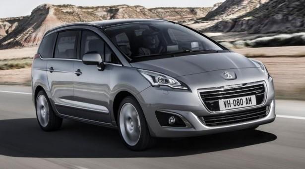 Peugeot  модифицирует минивэн 5008 до большого семиместного кроссовера
