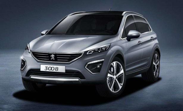 Появилось видео с новым поколением Peugeot 3008
