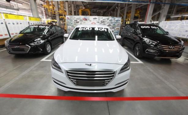 Производство трёх новых моделей Hyundai стартовало на калининградском Автоторе