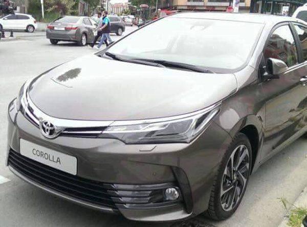 Рестайлинговую Toyota Corolla заметили на дорогах 1