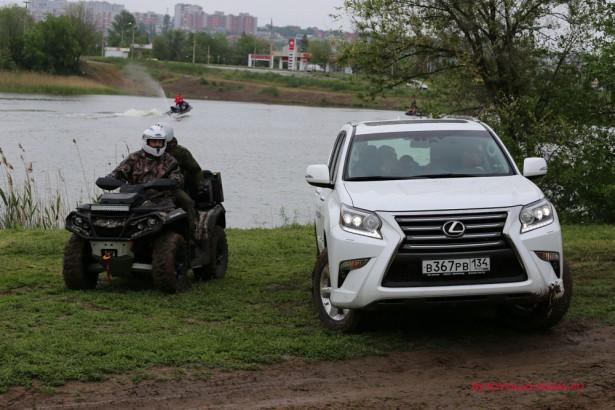 Тест-драйв внедорожников Тойота и Лексус Волгоград 2016 29