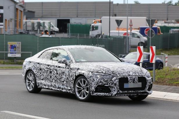 В Audi вывел на обширный тест-драйв модель A8