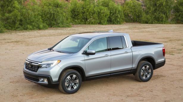В США стартовало производство японского пикапа Honda Ridgeline
