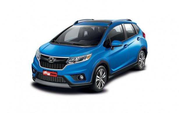 В сети появились дизайнерские изображения нового Honda WR-V