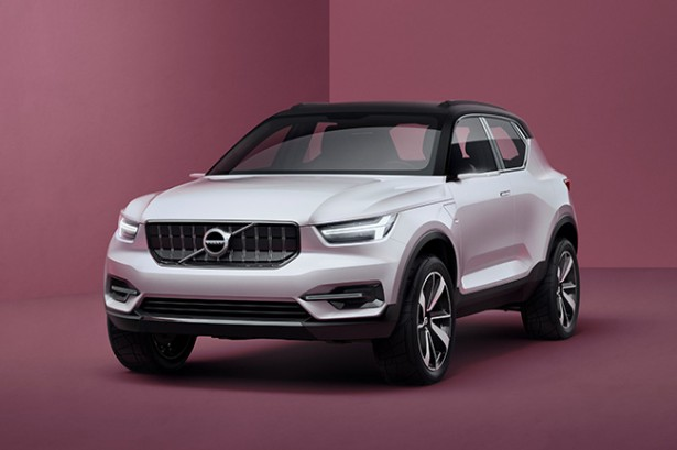 Volvo показала два новых концепта-предвестника моделей XC40 и V40