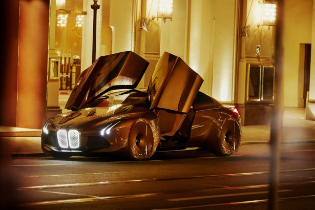 концепт BMW Vision Next 100 2016 01