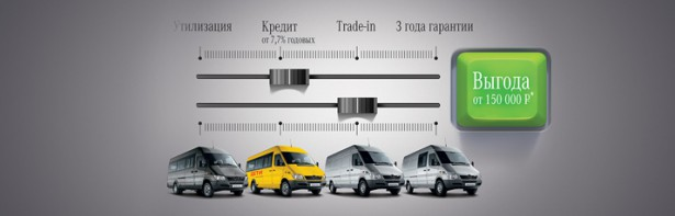 Sprinter Classic с выгодой от 150 000 рублей