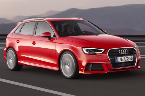 Audi озвучила рублевый ценник на новые седан и хэтчбэк A3