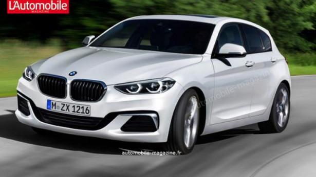 BMW 1 Series первая информация о новой генерации хэтчбэка