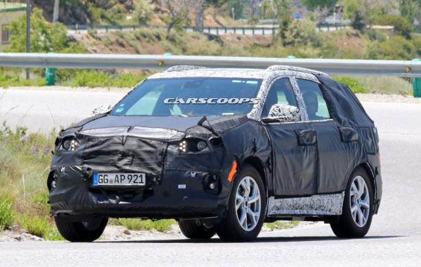 Chevy Equinox - Opel Antara 2018 Фото 03