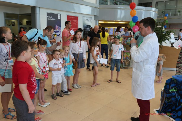 Детский праздник от Тойота Волгоград Фото 22