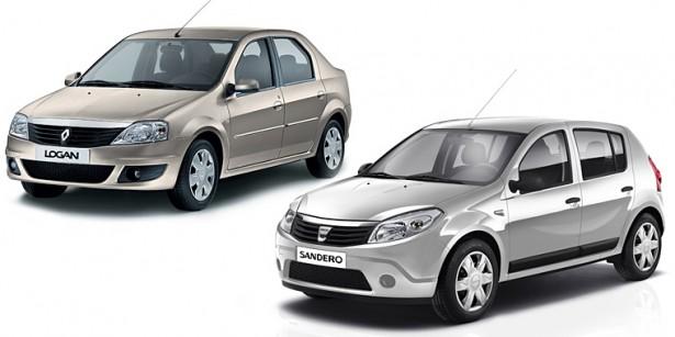 Французские бюджетники Renault Logan и Sandero обновят к осени