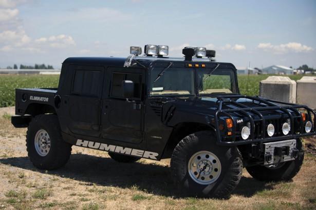 Hummer H1 рэпера Тупака Шакуры фото 2