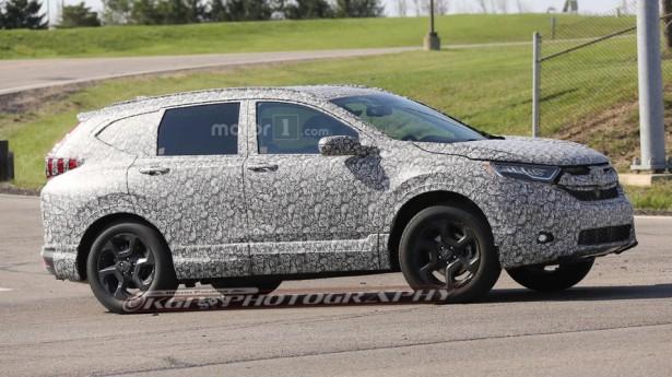 Известна дата появления Honda CR-V новейшей генерации