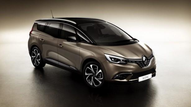 Концерн Renault  представил новый минивэн Grand Scenic