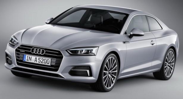 Новое купе A5 от Audi представлено общественности