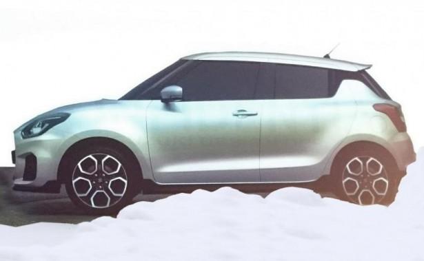 Новое поколение Suzuki Swift оснастят новым турбированным движком