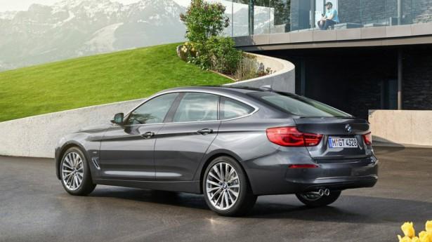 Обновленный хэтчбэк BMW 3 Series GT получил рублевый ценник