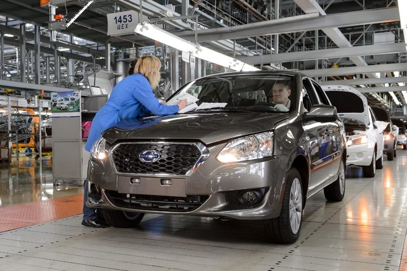 Производство автомобилей Datsun в Тольятти было остановлено на две недели