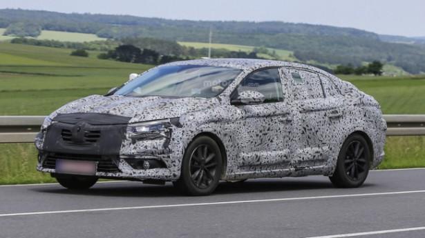 Рассекречено новое поколение седана Renault Fluence