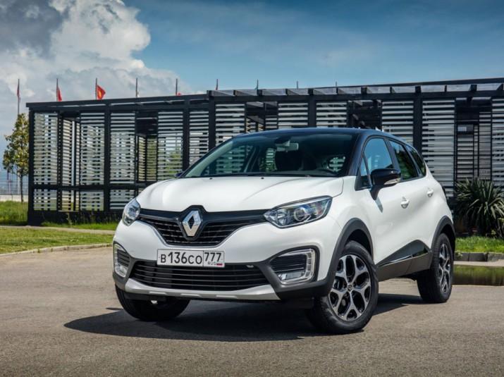 Renault Kaptur экстерьер