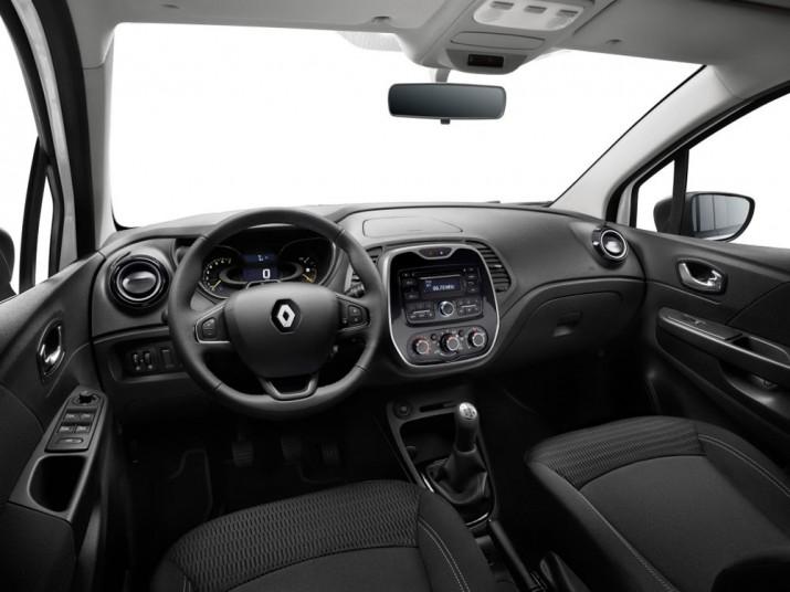 Renault Kaptur интерьер