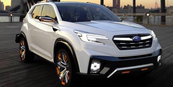 Subaru готовит семиместный кроссовер для рынка США