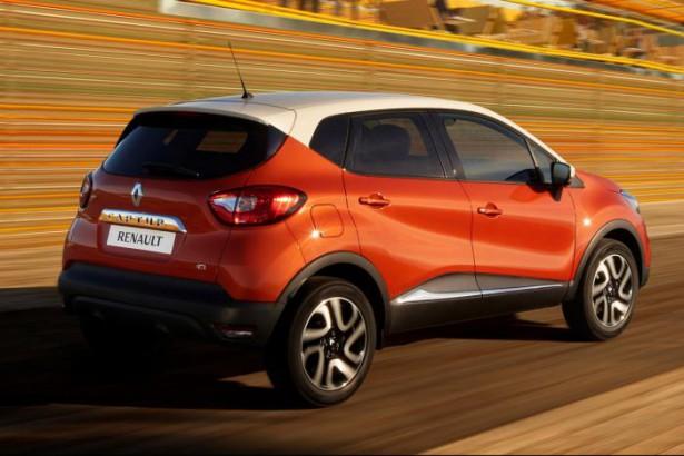 Украинские дилеры начинаю продажи Renault Captur