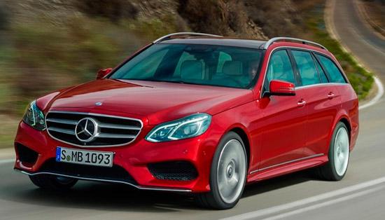Универсал Mercedes-Benz E200 приедет в Россию уже осенью