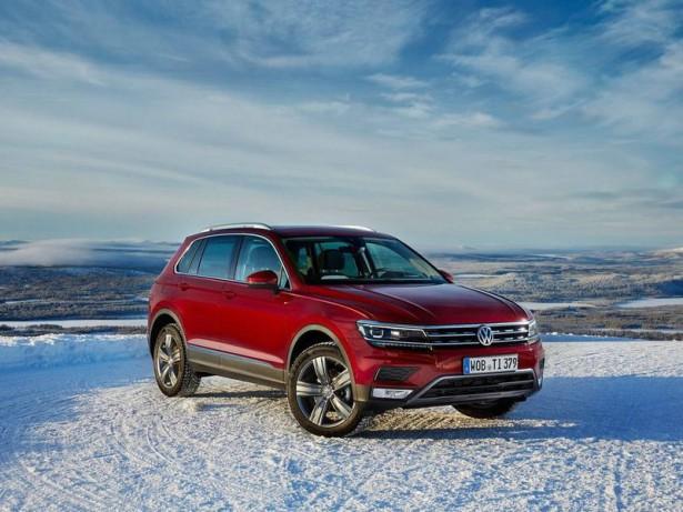 В России представлен новый Volkswagen Tiguan Allstar