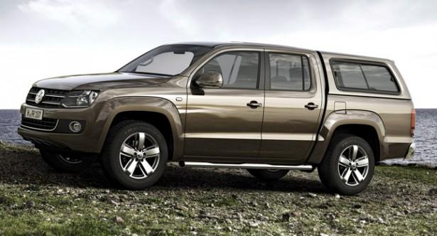 Volkswagen Amarok с мощным дизельным мотором V6 приедет в Россию