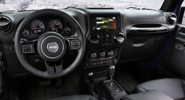 jeep интерьер