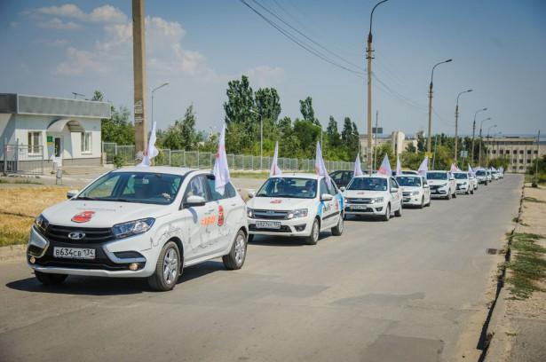 Автопробег LADA Волгоград 13