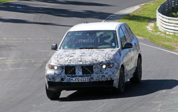 BMW X5 с новой генерации замечено на тестах в Нюрбургринге