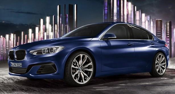 BMW представила свой компактный седан 1-Series Sedan 2017
