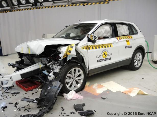 Евро NCAP Volkswagen Tiguan 5
