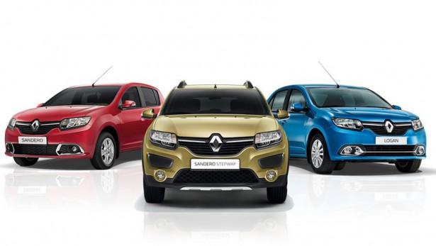 Известны цены на Renault Logan и Sandero с российским мотором